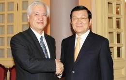 Thống đốc Ngân hàng hợp tác quốc tế Nhật Bản thăm Việt Nam