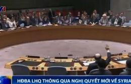 Hội đồng Bảo an LHQ thông qua Nghị quyết mới về Syria