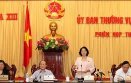 Bế mạc phiên họp 29 của Ủy ban Thường vụ Quốc hội