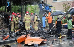 Tai nạn trực thăng ở Hàn Quốc, 5 người thiệt mạng