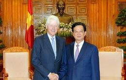 Thủ tướng tiếp cựu Tổng thống Clinton