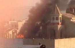 Phiến quân Hồi giáo ISIL phóng hỏa nhà thờ 1.800 năm tuổi ở Iraq