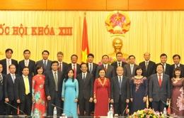 Chủ tịch Quốc hội tiếp đoàn Trưởng cơ quan đại diện Việt Nam ở nước ngoài
