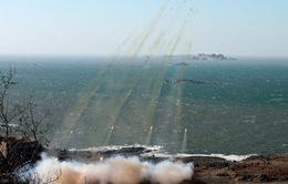 Triều Tiên bắn tên lửa ra biển của Nhật Bản