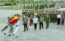 Bộ trưởng Trần Đại Quang thăm và tặng quà nhân ngày Thương binh Liệt sỹ tại Ninh Bình