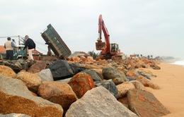 Phú Yên triển khai dự án cấp bách xây dựng kè biển xóm Rớ
