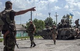 Quân đội Ukraine tiến đánh Donetsk