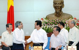 Thủ tướng làm việc với Liên hiệp các Hội khoa học và kỹ thuật