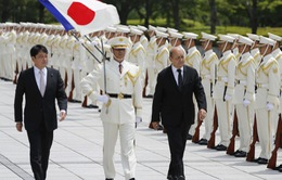 Nhật Bản, Pháp ký bản ghi nhớ hợp tác quốc phòng