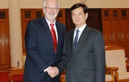 Thủ tướng Nguyễn Tấn Dũng tiếp Đại sứ Hoa Kỳ