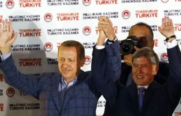 Thủ tướng Erdogan đắc cử Tổng thống Thổ Nhĩ Kỳ