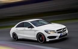 Rò rỉ hình ảnh chính thức về Mercedes CLA 45 AMG