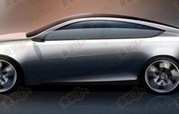 Qoros hé lộ mẫu coupe bốn cửa mới