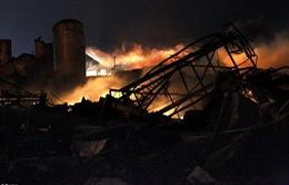 Hình ảnh kinh hoàng của vụ nổ nhà máy phân bón tại Texas