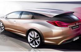 Honda hé lộ Civic Wagon trước thềm Geneva