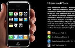 """Apple ngừng hỗ trợ phần cứng cho iPhone """"nguyên thủy""""?"""