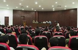 Sôi nổi Lễ bốc thăm chia bảng VCK Robocon Việt Nam 2013