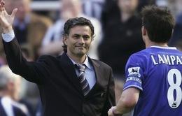 """Lampard: """"Mourinho là HLV xuất sắc nhất thế giới"""""""