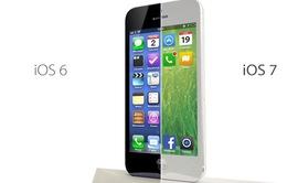 iOS 7 sẽ khác hoàn toàn những phiên bản trước?