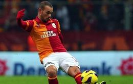 """Chuyển nhượng 17/6: Trò cũ Sneijder """"làm cao"""" với Jose Mourinho"""