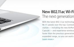 Tin sốc: Macbook Air mới mắc lỗi về Wifi?