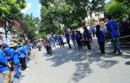 Hà Nội: Rợp bóng xanh tình nguyện