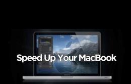 Những thao tác đơn giản giúp tăng tốc Macbook