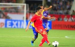ĐTQG Việt Nam thể hiện tinh thần thi đấu đáng khen trước Arsenal