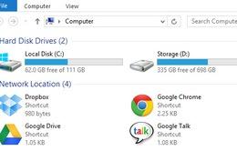 Tạo Shortcut trong My Computer trên Windows 7 & 8