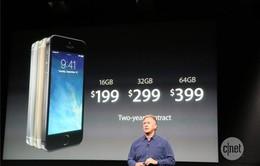 """""""Khai tử"""" iPhone 5, Apple chính thức giới thiệu iPhone 5S và 5C"""