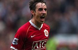 """""""Công thần"""" G.Neville lên tiếng mách nước cho Man Utd"""