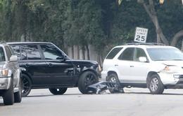 Cha con nhà Becks gặp tai nạn giao thông