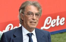 """Moratti sắp """"bật bãi"""" hoàn toàn khỏi Inter?"""