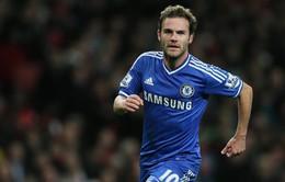 """Ra sân và tỏa sáng, Juan Mata """"nhắc khéo"""" Mourinho"""