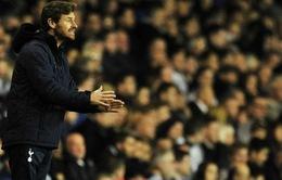 """Spurs thắng hú vía, Villas-Boas """"giở mặt"""" cảm ơn NHM"""