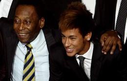 """Pele """"chê bai"""" hậu bối: Neymar còn kém xa Messi!"""