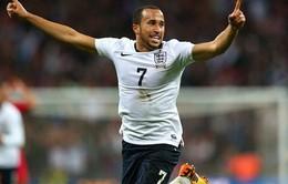 """""""Cánh chim lạ"""" tuyển Anh mơ về World Cup 2014"""