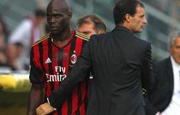 Balotelli phủ nhận chuyện rời AC Milan