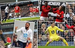 (VIDEO) - Tottenham 2-2 Man Utd: Nỗi buồn xẻ nửa...