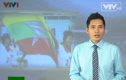 """SEA Games 27: Myanmar sớm có """"vàng"""""""