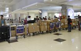 SEA Games 27: Hơn 1 tấn thiết bị phục vụ phát HD đã tới Nay Pyi Taw