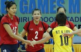 """SEA Games 27 - """"Hoa khôi"""" bóng chuyền: VN vẫn chưa bắt kịp Thái Lan"""