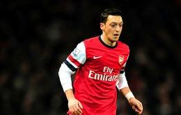 Arsenal đón tin dữ: Ozil nghỉ đá nửa tháng