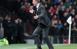 """Man Utd thua thảm, David Moyes """"đổ tại"""" trọng tài"""
