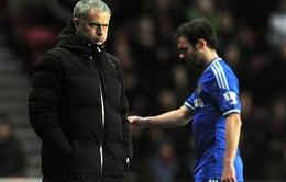 Mourinho sẵn sàng mở cửa cho Juan Mata rời Chelsea?