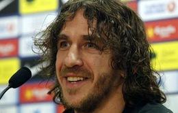 Puyol phủ nhận chuyện chia tay Barcelona