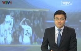Bản tin thể thao buổi trưa ngày 10/01/2014