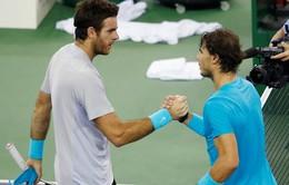 "Australian Open 2014: Trước giờ G, Del Potro ""trù ẻo"" Rafael Nadal"