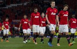 """Man Utd bị """"trù ẻo"""": Mất chức vô địch EPL, tuột vé Champions League"""