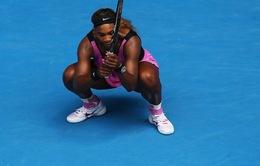 """""""Địa chấn"""" Australian Open 2014: Serena Williams """"bật bãi"""" ở vòng 4"""